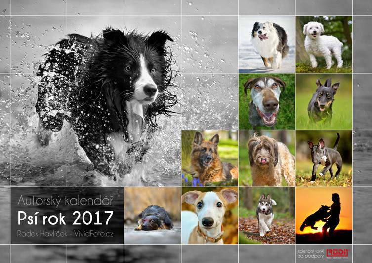 Atorský kalendář Psí rok 2017